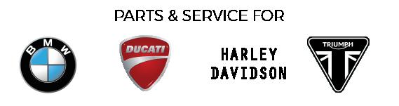 part & services of Harley Davidson, BMW, Ducati, Triumph